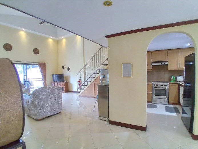 House for rent Pattaya showing the open plan concept