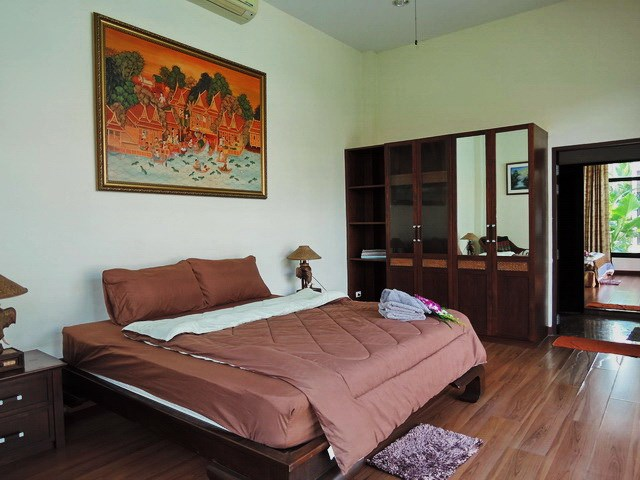 House for rent Pattaya showing the third bedroom suite