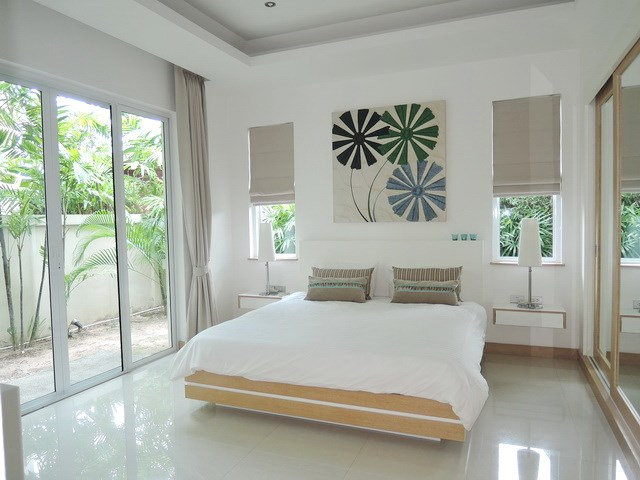 House for rent The Vineyard Pattaya showing the third bedroom