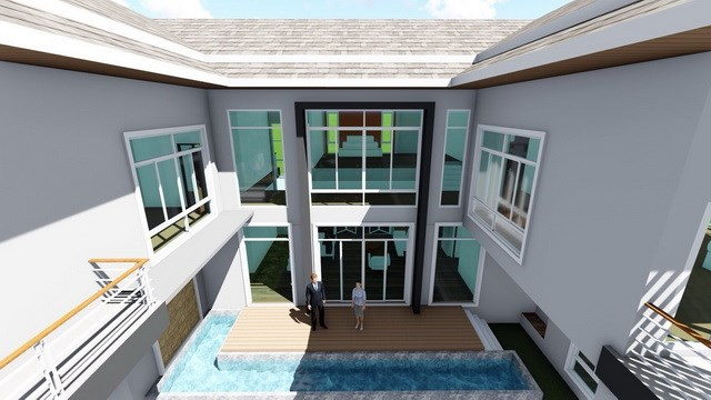 House for sale East Pattaya showing the house concept