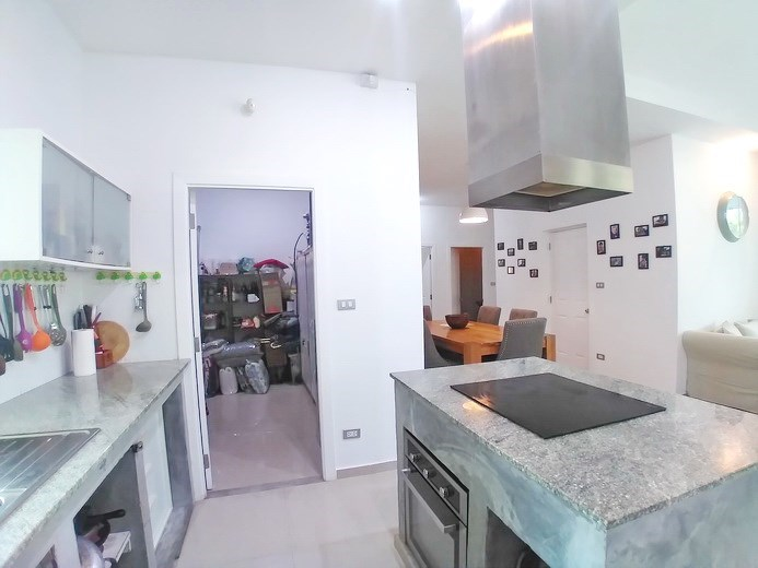House for sale Huay Yai Pattaya showing the kitchen and storeroom