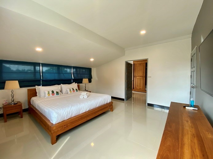 House for sale Jomtien showing the fourth bedroom