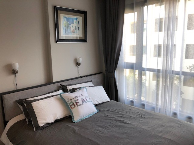 Condominium for rent Central Pattaya showing the bedroom