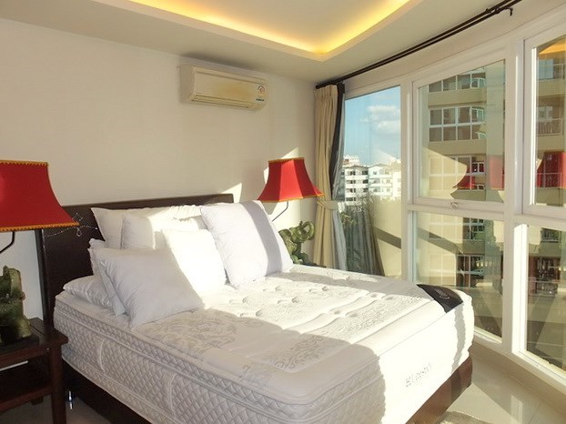 Condominium for Rent Central Pattaya showing the second bedroom