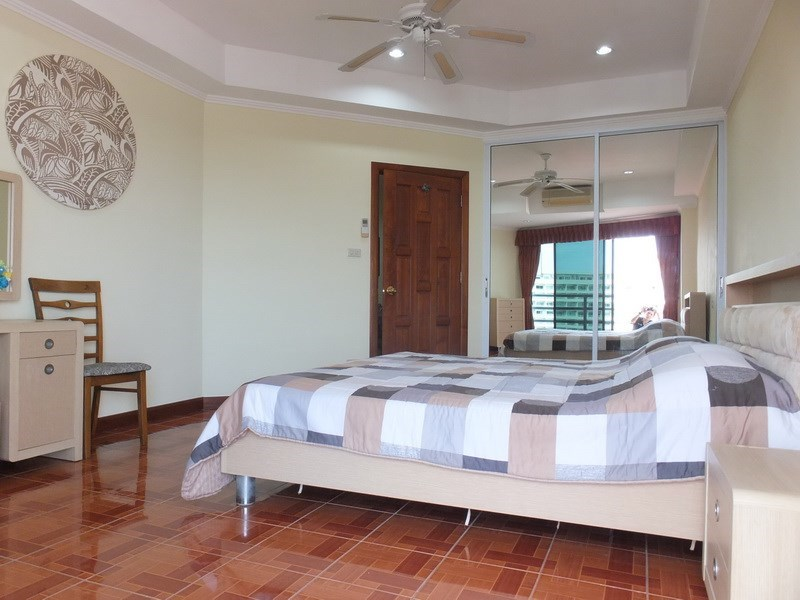 Condominium for rent Jomtien showing the second bedroom