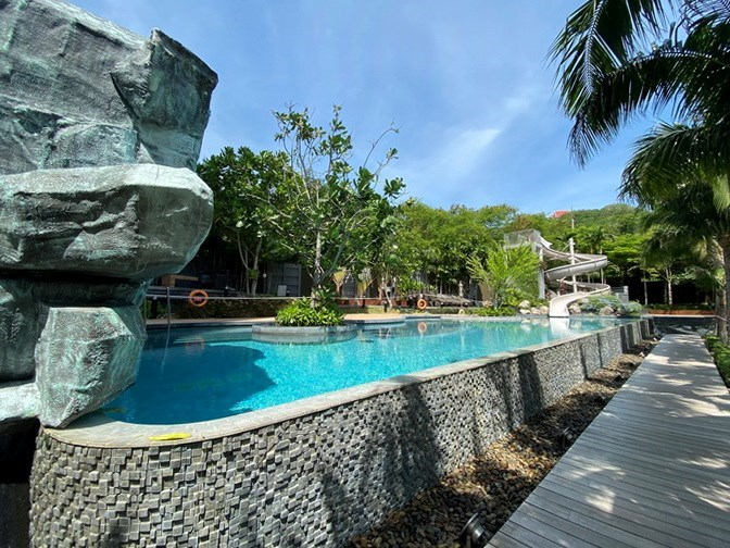 Condominium for rent UNIXX South Pattaya showing the communal pool