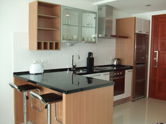 Condominium for sale Naklua showing the kitchen