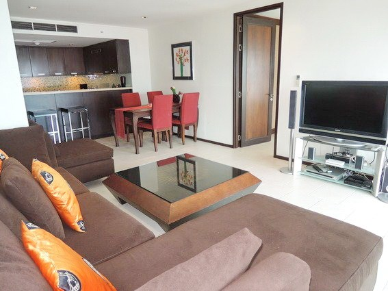Condominium for sale Northshore Pattaya showing theCondominium for sale Northshore Pattaya showing the open plan living