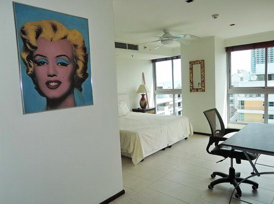Condominium for sale Northshore Pattaya showing the second bedroom suite