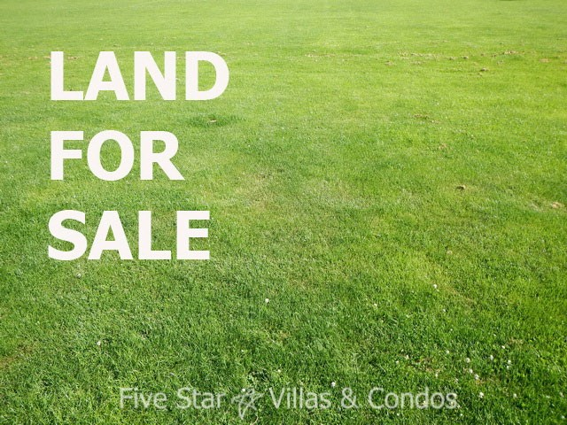 Development land for sale Pong Pattaya close to Rugby School