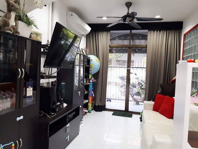 House for rent Central Pattaya showing the living area