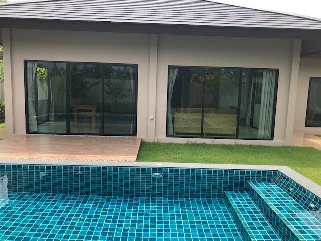 House for rent Huay Yai Pattaya showing the house