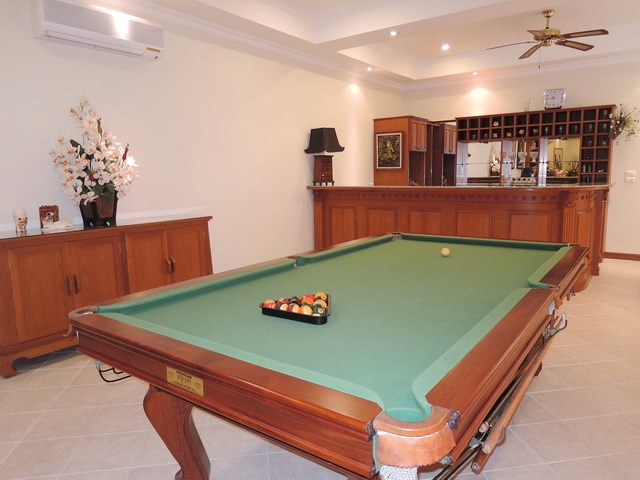 House for rent at View Talay Villas Jomtien showing the entertainment area