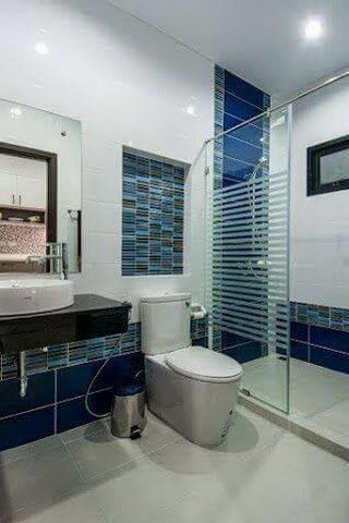 House for sale Na Jomtien Pattaya showing the second bathroom