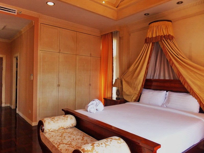 House for sale at Na Jomtien showing the second bedroom suite
