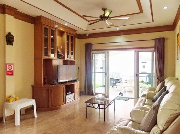 House for sale East Pattaya showing the living area and covered terrace