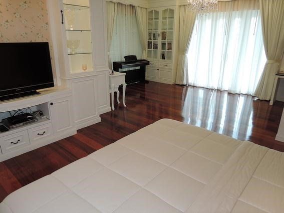 House for Rent Jomtien Park Villas Pattaya showing the second bedroom